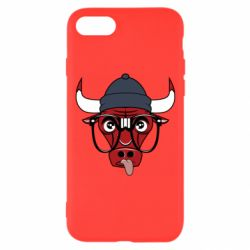 Чехол для iPhone 8 Chicago Bulls Swag - FatLine