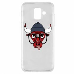 Чехол для Samsung A6 2018 Chicago Bulls Swag - FatLine