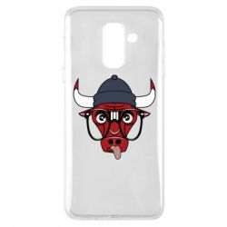 Чехол для Samsung A6+ 2018 Chicago Bulls Swag - FatLine