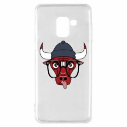 Чехол для Samsung A8 2018 Chicago Bulls Swag - FatLine