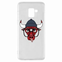 Чехол для Samsung A8+ 2018 Chicago Bulls Swag - FatLine