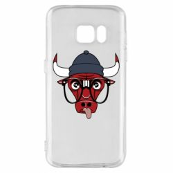 Чехол для Samsung S7 Chicago Bulls Swag - FatLine