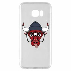 Чехол для Samsung S7 EDGE Chicago Bulls Swag - FatLine