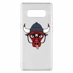 Чехол для Samsung Note 8 Chicago Bulls Swag - FatLine