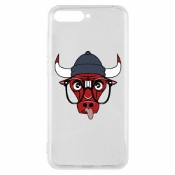 Чехол для Huawei Y6 2018 Chicago Bulls Swag - FatLine