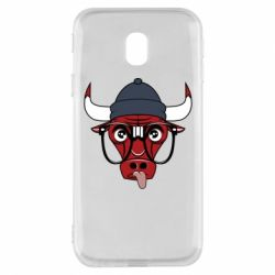 Чехол для Samsung J3 2017 Chicago Bulls Swag - FatLine