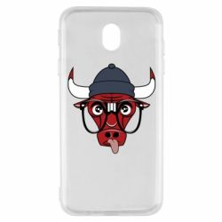 Чехол для Samsung J7 2017 Chicago Bulls Swag - FatLine