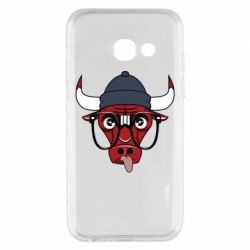 Чехол для Samsung A3 2017 Chicago Bulls Swag - FatLine