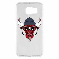 Чехол для Samsung S6 Chicago Bulls Swag - FatLine