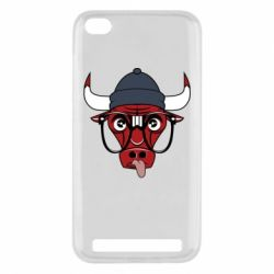 Чехол для Xiaomi Redmi 5a Chicago Bulls Swag - FatLine