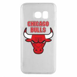 Чохол для Samsung S6 EDGE Chicago Bulls vol.2