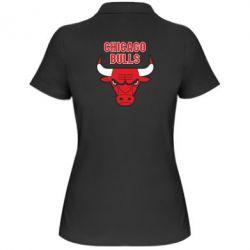 Женская футболка поло Chicago Bulls vol.2 - FatLine