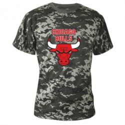 Камуфляжная футболка Chicago Bulls vol.2