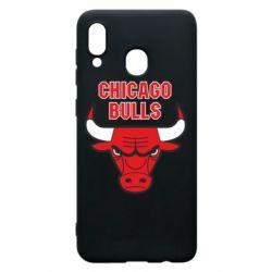 Чохол для Samsung A20 Chicago Bulls vol.2