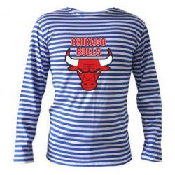 Тельняшка с длинным рукавом Chicago Bulls vol.2 - FatLine