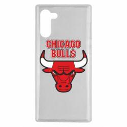 Чохол для Samsung Note 10 Chicago Bulls vol.2