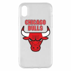 Чохол для iPhone X/Xs Chicago Bulls vol.2