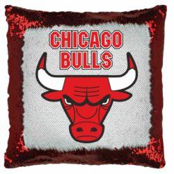 Подушка-хамелеон Chicago Bulls vol.2