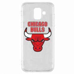 Чохол для Samsung A6 2018 Chicago Bulls vol.2