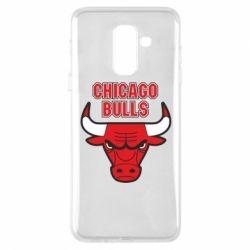 Чохол для Samsung A6+ 2018 Chicago Bulls vol.2