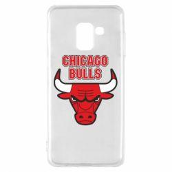 Чохол для Samsung A8 2018 Chicago Bulls vol.2