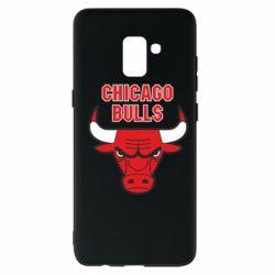 Чохол для Samsung A8+ 2018 Chicago Bulls vol.2