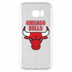 Чохол для Samsung S7 EDGE Chicago Bulls vol.2