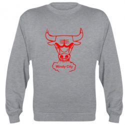 Реглан (свитшот) Chicago Bulls Windy City - FatLine