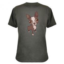 Камуфляжна футболка Чихуахуа