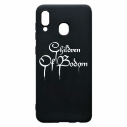 Чохол для Samsung A20 Children of bodom logo