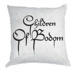 Подушка Children of bodom logo