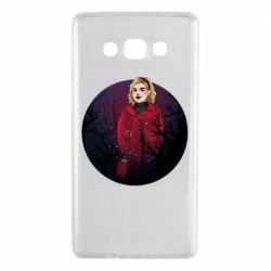 Чехол для Samsung A7 2015 Chilling Soul Adventures of Sabrina Art