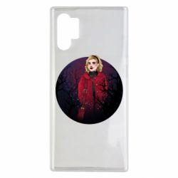 Чехол для Samsung Note 10 Plus Chilling Soul Adventures of Sabrina Art