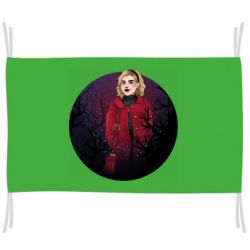 Флаг Chilling Soul Adventures of Sabrina Art