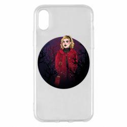 Чехол для iPhone X/Xs Chilling Soul Adventures of Sabrina Art