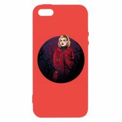 Чехол для iPhone5/5S/SE Chilling Soul Adventures of Sabrina Art