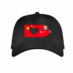 Детская кепка Chinese flag and president