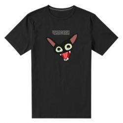 Мужская стрейчевая футболка Чипсеки кот мем