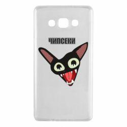 Чехол для Samsung A7 2015 Чипсеки кот мем
