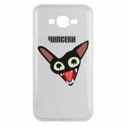 Чехол для Samsung J7 2015 Чипсеки кот мем
