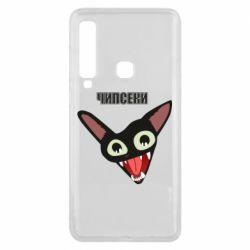 Чехол для Samsung A9 2018 Чипсеки кот мем