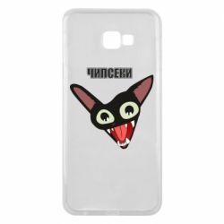 Чехол для Samsung J4 Plus 2018 Чипсеки кот мем