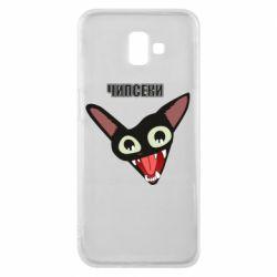 Чехол для Samsung J6 Plus 2018 Чипсеки кот мем