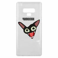 Чехол для Samsung Note 9 Чипсеки кот мем