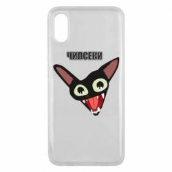 Чехол для Xiaomi Mi8 Pro Чипсеки кот мем