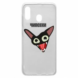 Чехол для Samsung A30 Чипсеки кот мем