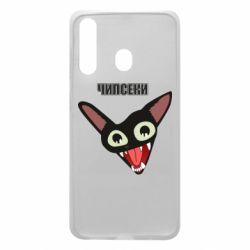 Чехол для Samsung A60 Чипсеки кот мем