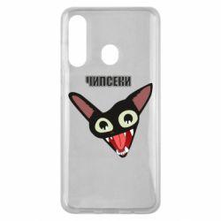 Чехол для Samsung M40 Чипсеки кот мем