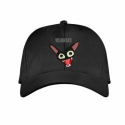 Детская кепка Чипсеки кот мем