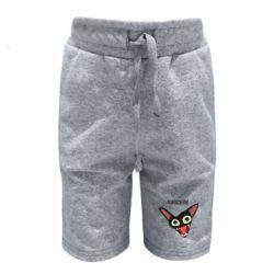 Детские шорты Чипсеки кот мем